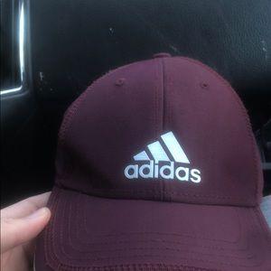 Adidas maroon hat
